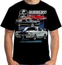 ae2f7a74 Velocitee Mens T-Shirt Licensed Shelby Mustang Cars Muscle Ford GT350 A17929