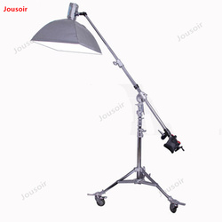 M11-1126F large rocker top lamp frame adjustable lamp angle with wheel movement convenient and stable CD50 T03