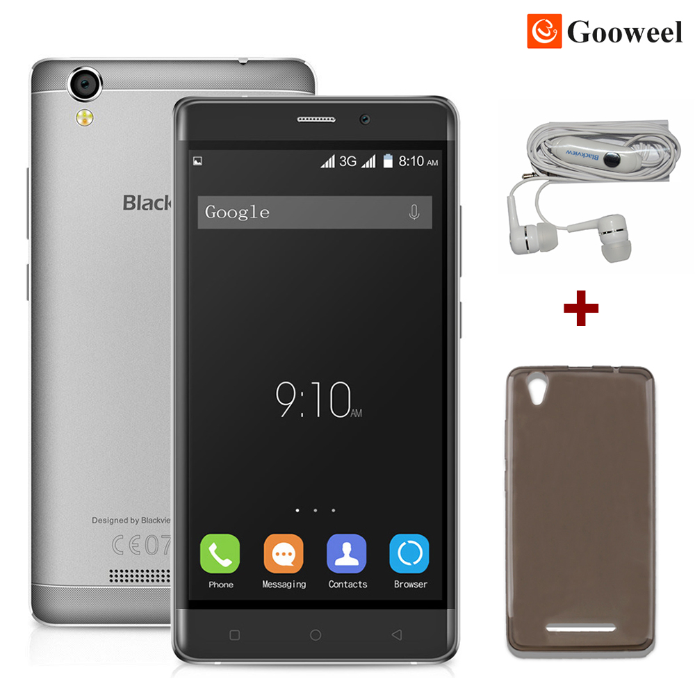 Blackview A8 cell phone MTK6580 Quad core 5 0 inch IPS HD screen Android 5 1