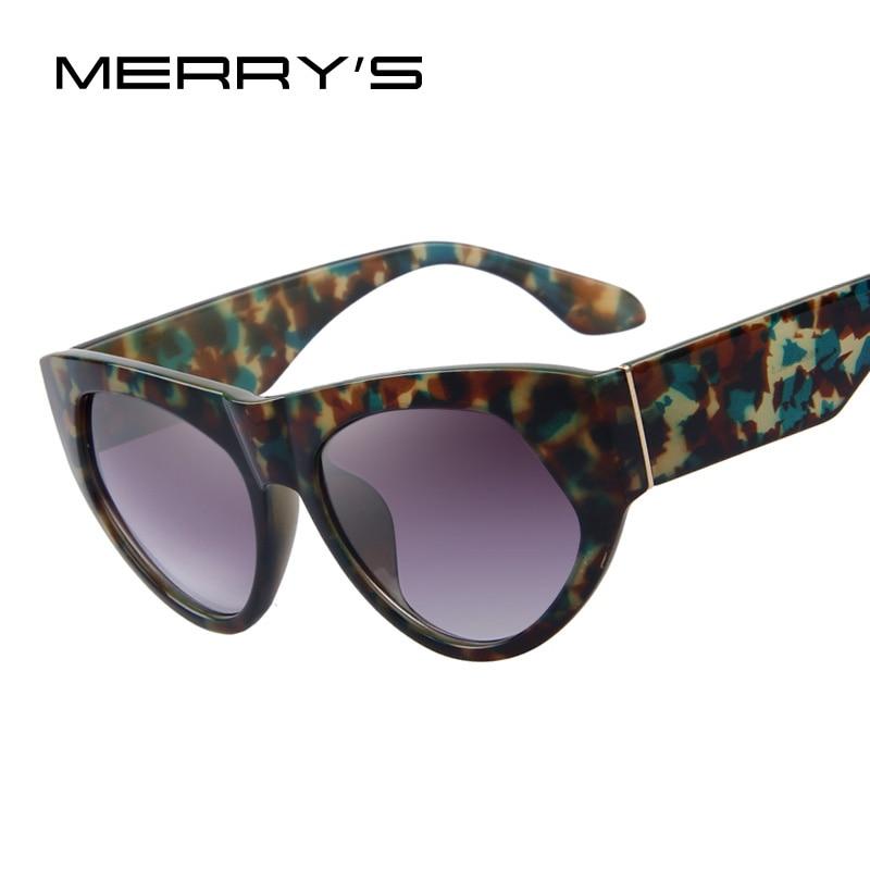 MERRYS Fashion Women Sunglasses Brand Designer Cat Eye Sunglasses Classic Women Sunglasses UV400