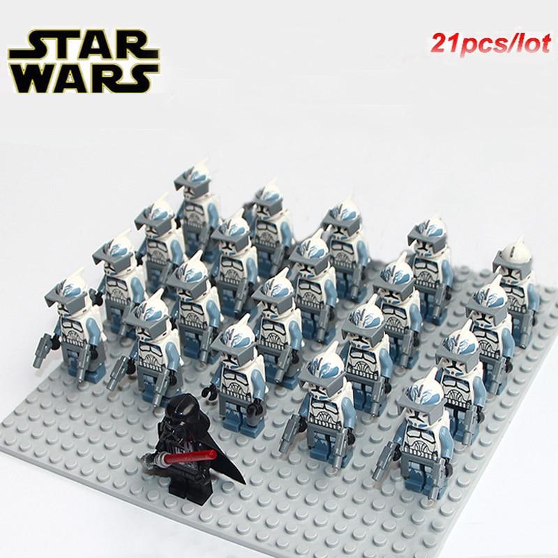 Captain Minifigures for CUSTOM LEGO Minifigure 21pcs Star Wars Stormtrooper