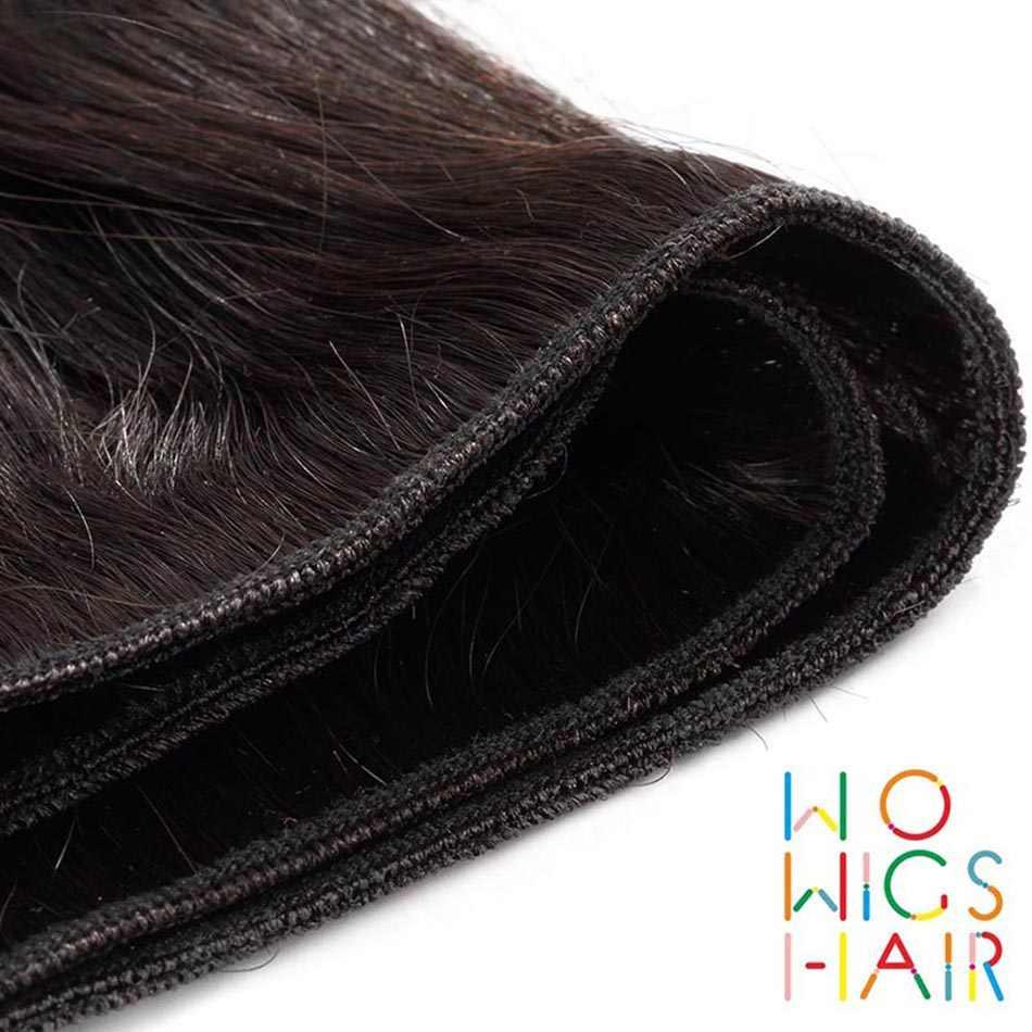 WoWigs Hair Brazilian Body Wave 100% Human Hair Weaving 4 PCS Remy Hair Free Shipping Natural Color