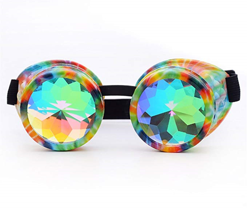 ba71a1a3f5 Paquete: 1x Eyewer. Movistar # w003 Caleidoscopios colorido Gafas partido  del Festival del delirio EDM Gafas de sol difractada lente