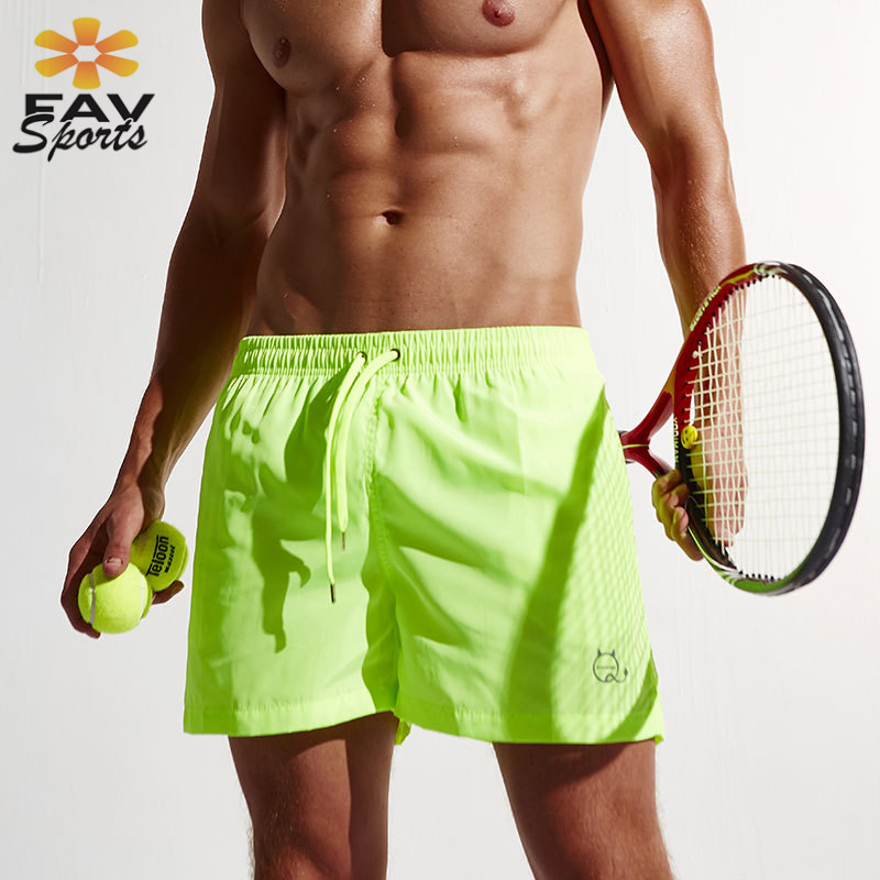 2018 New Surf   Board     Shorts   Mens Summer Swimwear Quick Dry Beach Trunks Running Sportswear Bermuda