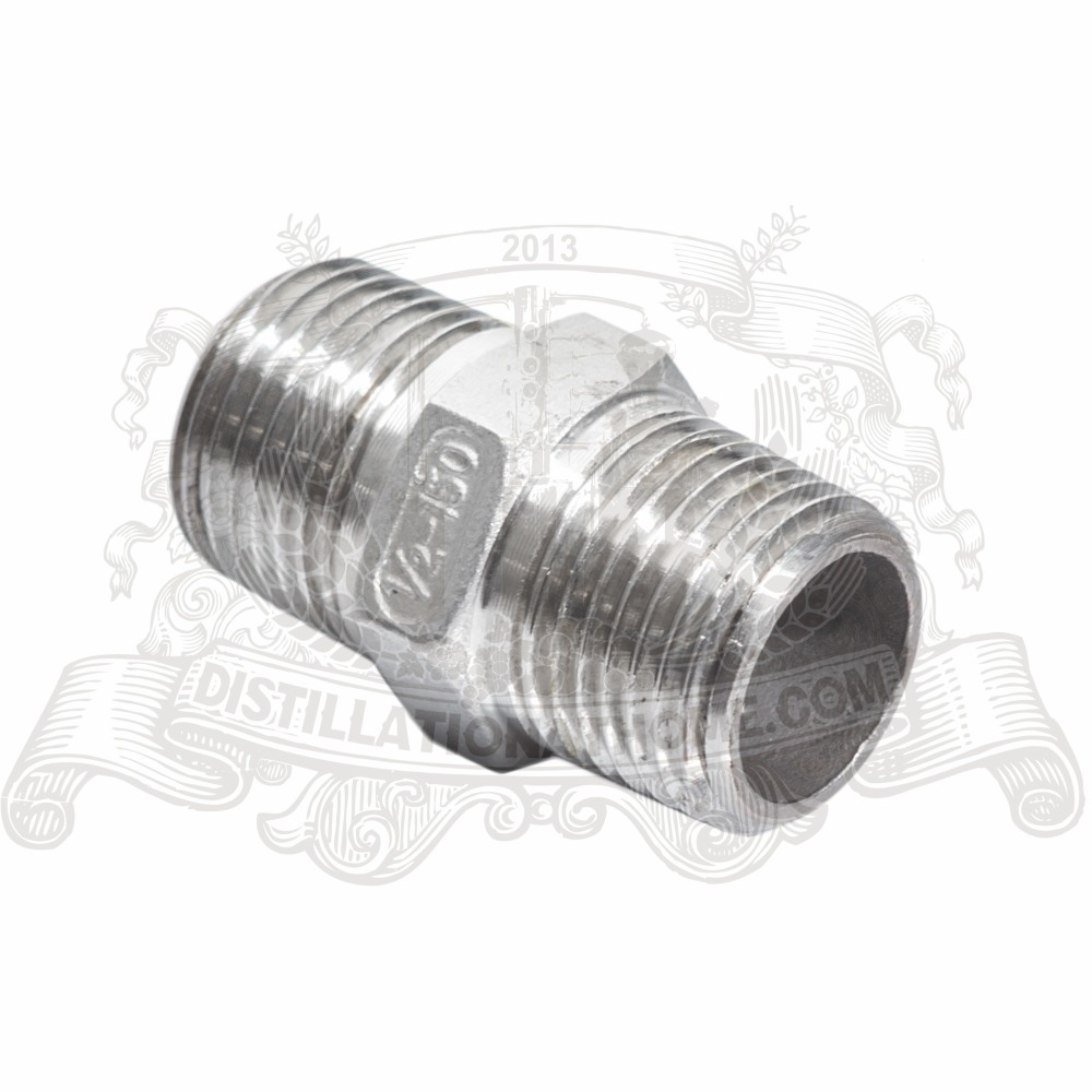 3//8 x 12MM SS304 Filetage Raccord de Tuyau M/âle x Connecteur de Tube Barbel/é en Acier Inoxydable