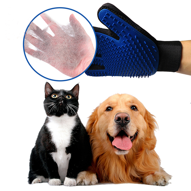 Silicone Pet Grooming Glove For Cats 5
