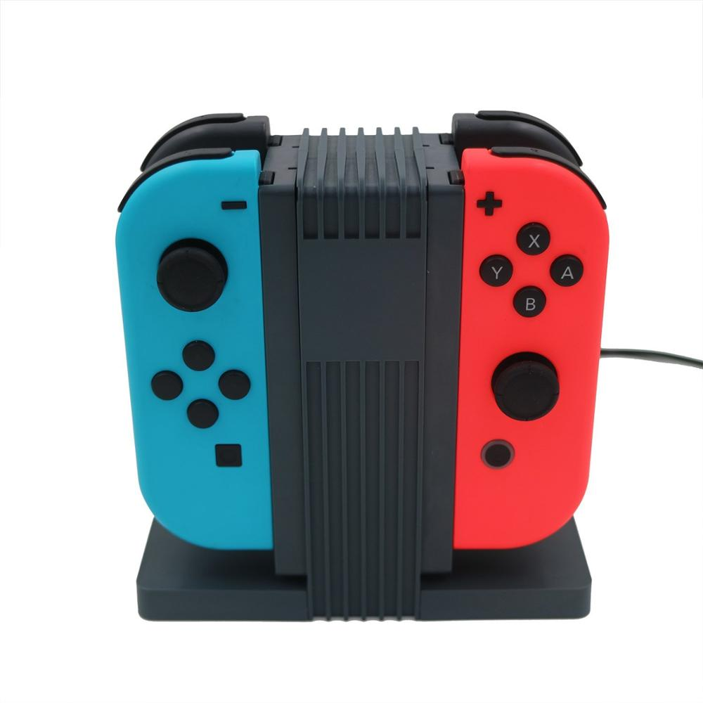 for nintendo Switch Joy Con Charger Docks Stand and Compact Charging Holder