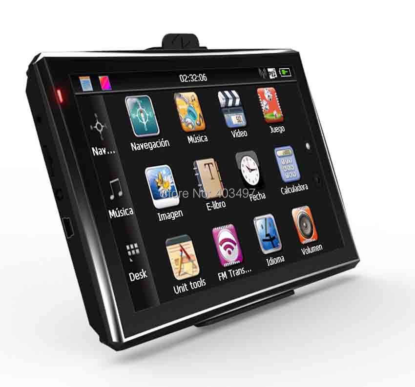 5 inch Car GPS Navigator without Bluetooth&AV IN 4GB load 3D Map   RAM128M title=