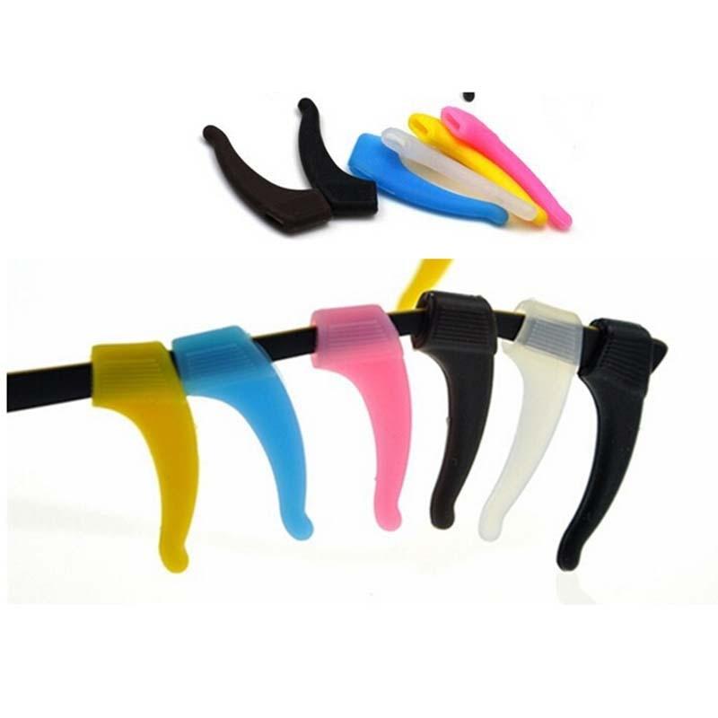 New 1 Pair Sunglasses Eyewear Ear Hook Eyeglasses Glasses Silicone Anti Slip Temple Tip Sport Holder Braces Supports Hot Sale