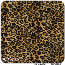 TSPY573-5 popular pattern leopard skin Hydrographic Film  PVA Water Transfer Printing Film