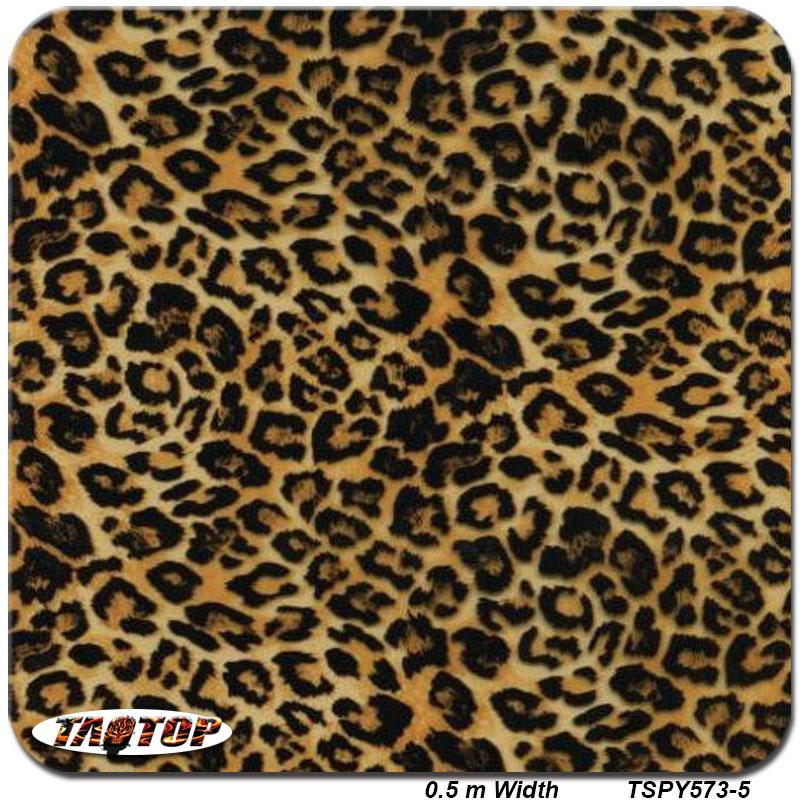 iTAATOP TSPY573-5 popular pattern leopard skin Hydrographic Film PVA Water Transfer Printing Film