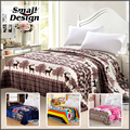 Bed Cover Blanket Flannel Blanket Warm Soft  Fleece Throw Sofa Cheap China Mandala Blankets Christmas Deer Adult Bedding Set