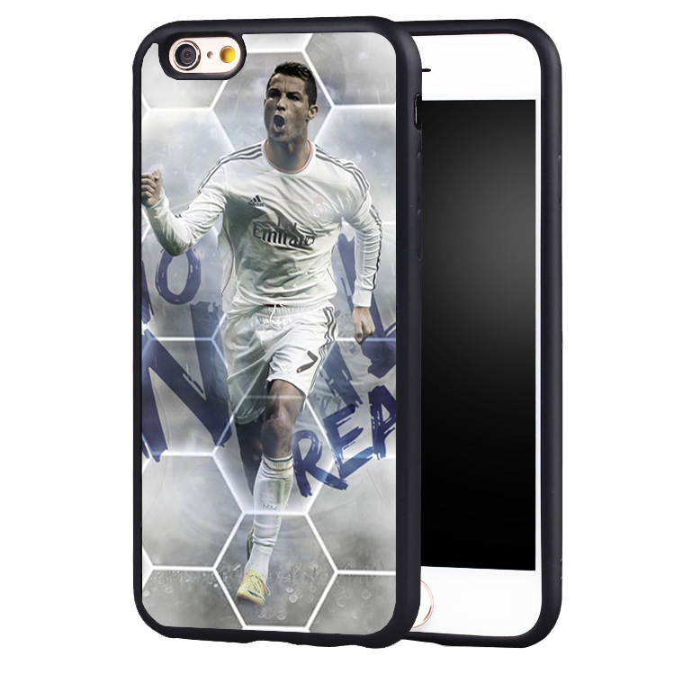 Ronaldo CR7 Football Soccer Star Soft case cover for iphone X 8 7 plus 6 6splus 5 5s SE