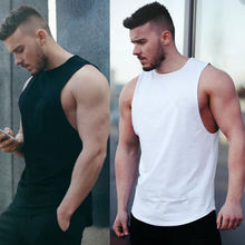 Summer Sleeveless Muscle Vest Mens Tank top font b Slim b font Fit O Neck Casual
