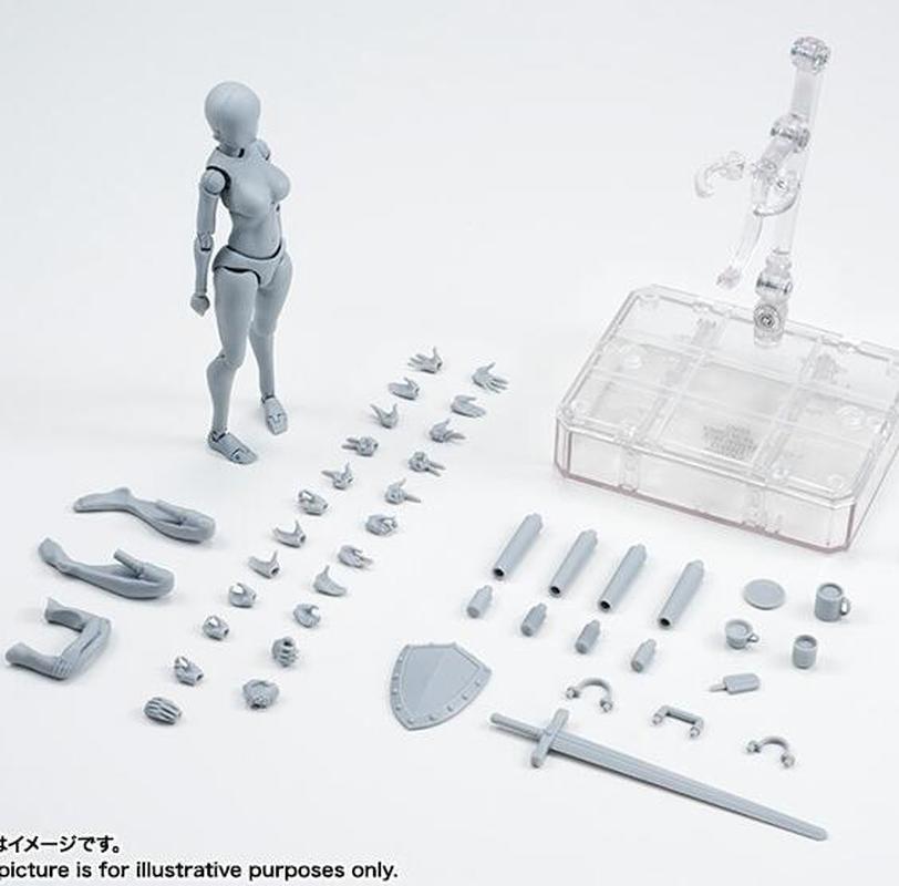 Новые многоскоростные подвижные фигурки, боди Кун/Боди Чан серый/черный цвет вер ПВХ фигурка Коллекционная модель игрушечного рисунка