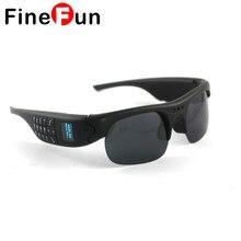 Cheapest prices FineFun Bluetooth Sunglasses Mini DVR DV Audio Video Recorder Camcorders Video Camara MP3 Smart Glasses Support TF Phone Card