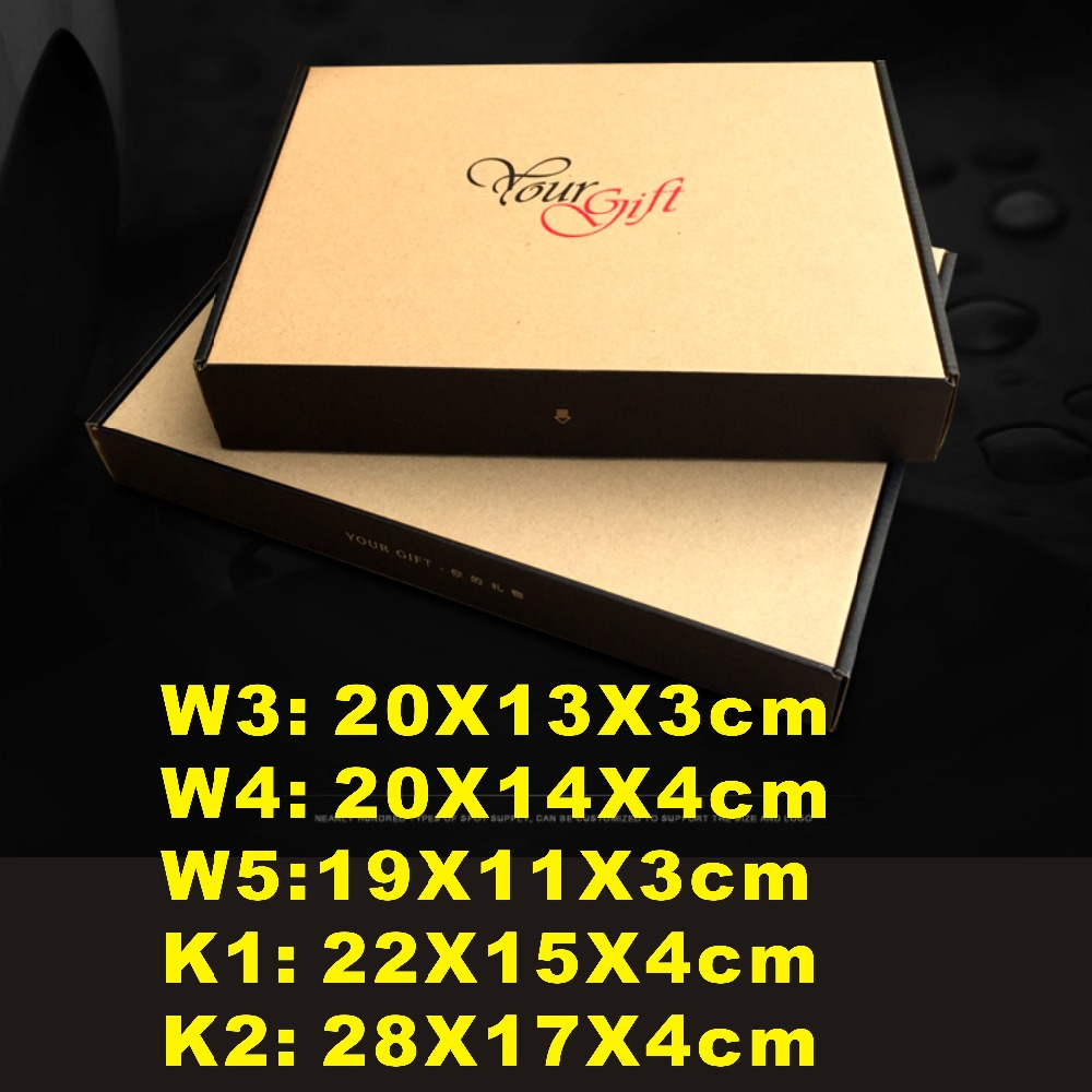 23 sizes choose, W3- K2 ,good quanlity your gift kraft paper box , packing clothes box, gift box or mail for you shop.