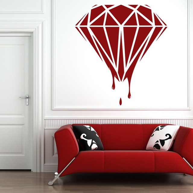 E853 Blood Diamond Wall Decal Art Wall Sticker Home Decoration Decals  Living Room Bedroom Decor
