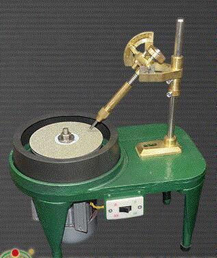 Gema facetas pulido máquina plana de molienda Jade piedra máquina ángulo