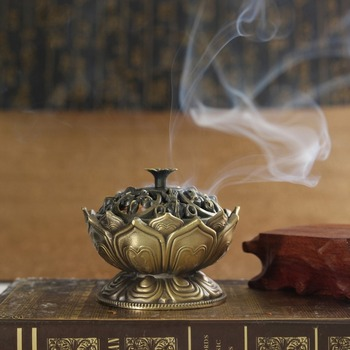 Brûleur d'encens fleur de Lotus
