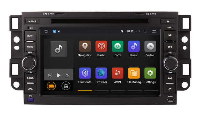 Android 7 1 Head Unit Car Dvd Player For Chevrolet Aveo