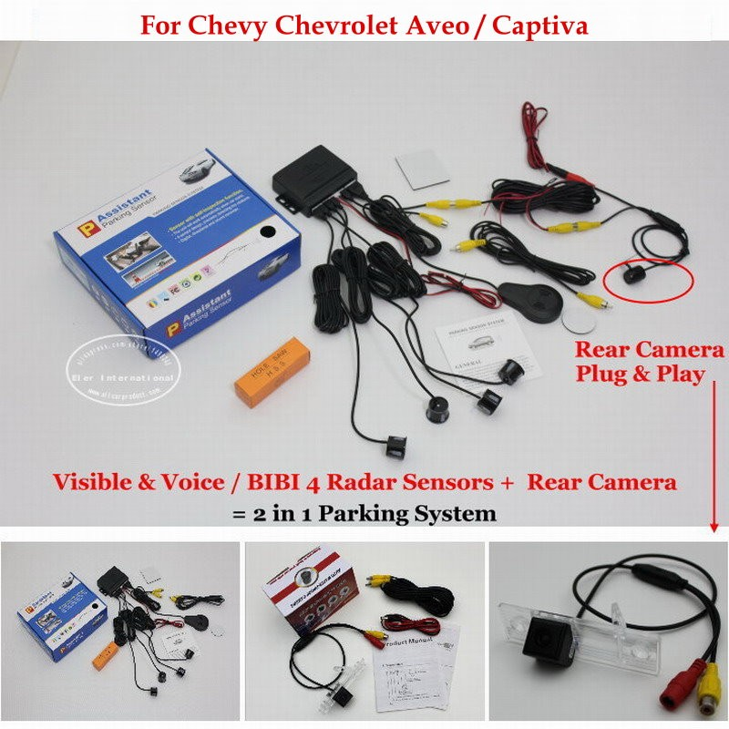 Chevy Chevrolet Aveo Captiva parking system