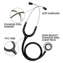 Professional Dual Head Doctor Stethoscope Heart Lung Cardiology Stethoscope Medical  Doctor Medical Medical Equipment Device new good quality medical spirometer newest lung capacity testing equipment