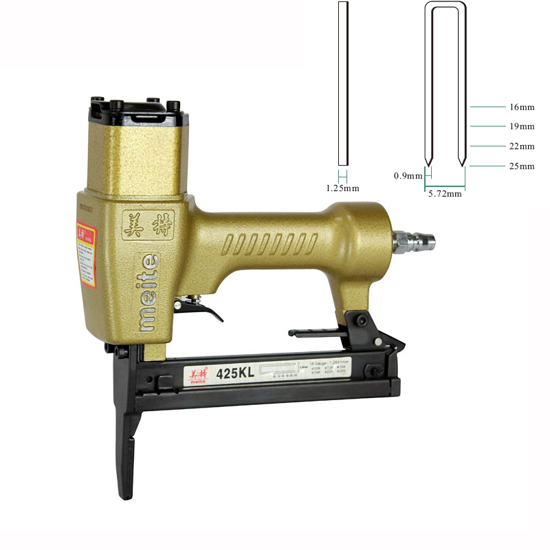 Quality 425KL U-type Pneumatic Nail Gun Air Stapler Tools Pneumatic Brad Nailer Gun 16-25mm high quality 425kl u type pneumatic nail gun air stapler tools pneumatic brad nailer gun 16 25mm