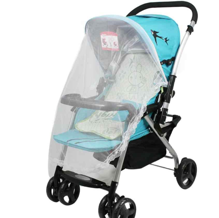 New Hot Universal Lace Safe Baby Carriage Insect Mosquito Net Baby Stroller Bed Net  0716