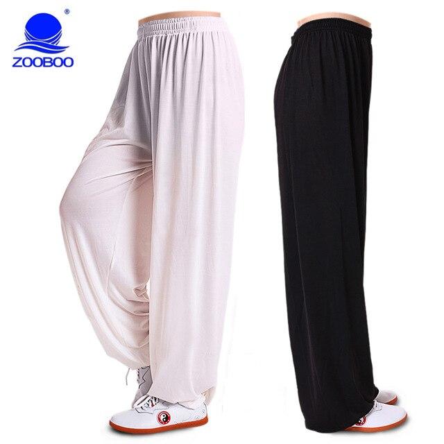 Боевые искусства тай-чи, брюки брюки на волну, Практика йоги брюки для мужчин и женщин спортивные брюки упругой тай-чи костюм