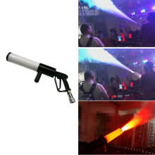 цены Dj Led Gun Co2 Gun Pistola Co2 Jet Machine Stage Effect Handhold Co2 Gun Disco Equipment Led Stage Light RGB Club Bar Wedding