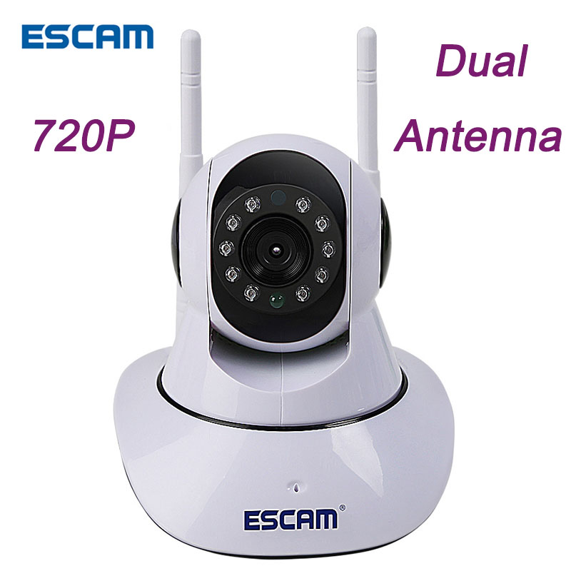 ESCAM G02 IP Camera wi fi 720P Video Surveillance Camcorder for Phone Max 128G Card Home