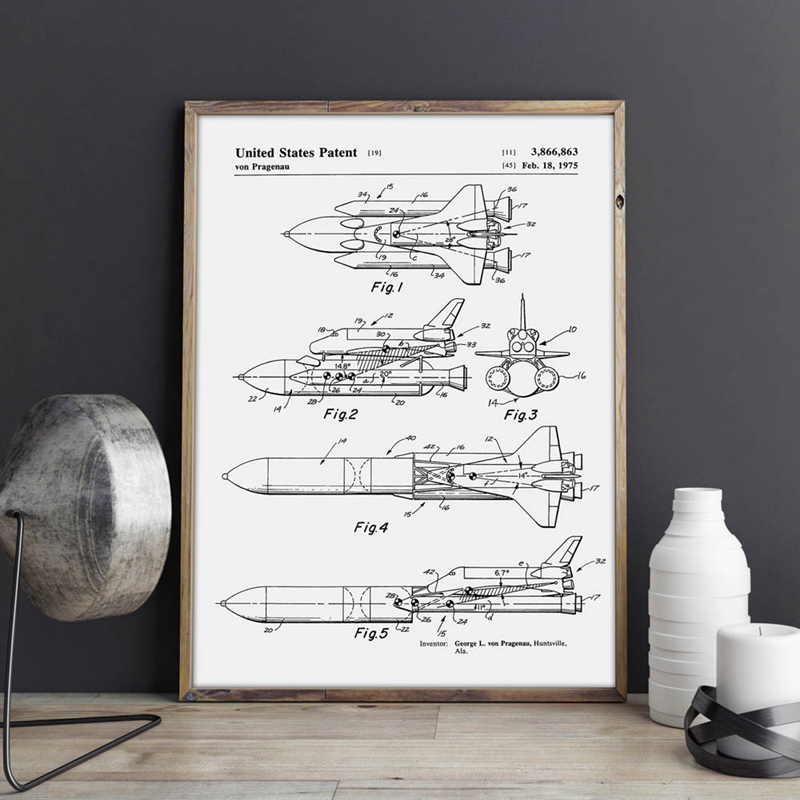 Space Shuttle Canvas Prints