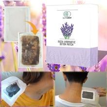 10 patches/Box Nutrispot Hals Lymfatische Detox Patch Anti Zwelling Kruiden LymphPads Detox Voet Patches Pads Te Verbeteren slaap