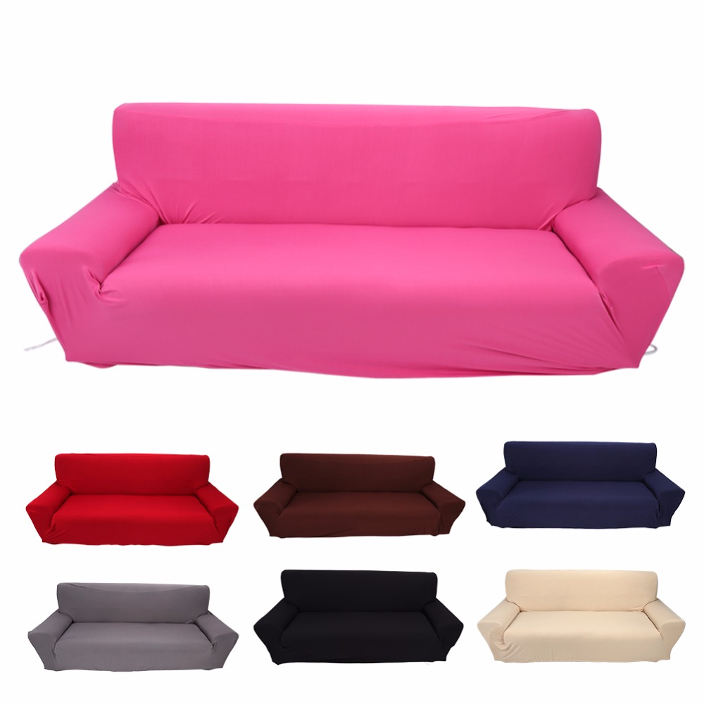 Charmant 3 Seater Sofa Couch Household Stretch Elastic Sofa Couch Protective  Slipcover Home Furniture Chair 7 Solid Colors Hot Sale In Sofa Cover From  Home U0026 Garden ...