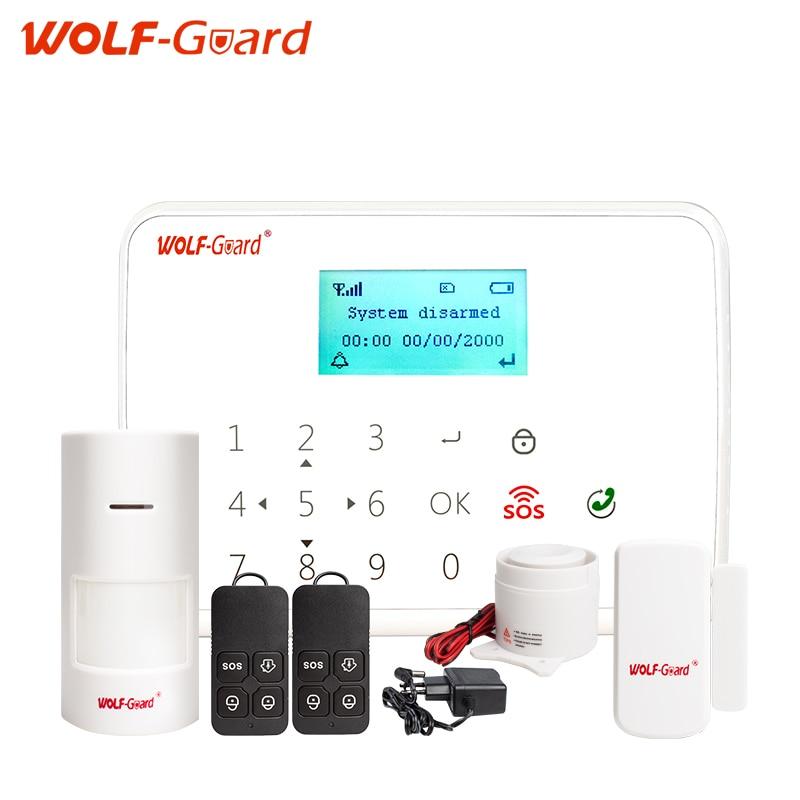 bilder für Wolf-wache 433 mhz wireless Intelligente Android IOS app fernbedienung SOS taste haushalts einbrecher GSM Alarm Sicherheitssystem