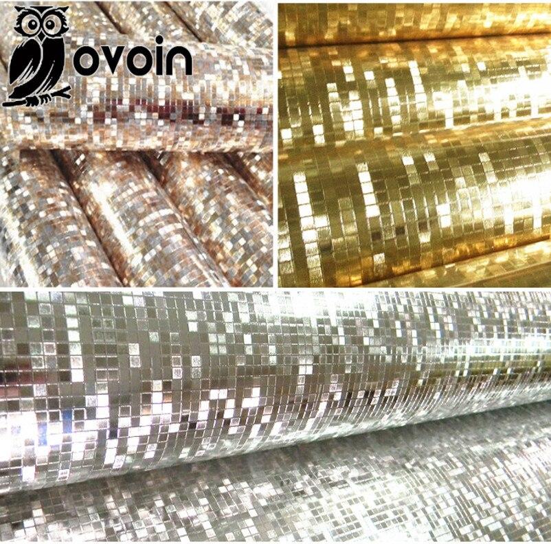 Buy mini mosaic luxury glitter wallpaper for Mosaic wallpaper for walls
