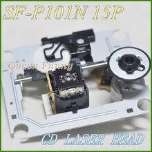 SF P101N SF P101(15PIN) אופטי איסוף עם מנגנון SF 101N / SF 101 SFP101N (DA11 15P) עבור CD/VCD נגן DA11 לייזר עדשה