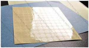 2cm Sticker Envelop Sealing Transparent for Waterproof PVC Round Dot Paste 2000pcs/Lot