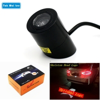 Many Patterns Select 1Pcs New Car Warning Laser Tail Logo Rear Fog Light Styling Auto Brake