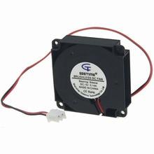 1PCS Gdstime 3D Printer Cooling Fan 40x40x10mm 2Pin 12V DC Brushless Turbo Blower 4010
