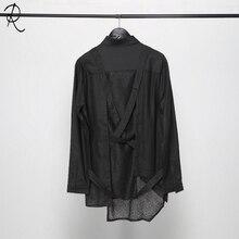 Новые стили осенней одежды оригинальные модные необычные индивидуальные и Самовосстанавливающиеся рубашки