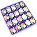 11x14mm 13*17mm 16*21mm Crystal AB Sew On Rhinestones Pear Shape Glass Sew-On Stones Flatback Droplet Sewing Strass