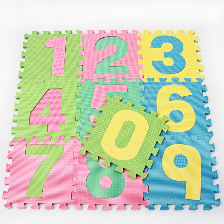10 pieces of foam mat Colorful waterproof and moldy mat Factory direct sale