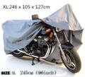 Size 246*105*127cm Size XL Waterproof UV Outdoor Motorcycle Motorbike Cruiser Bike Scooter Cover