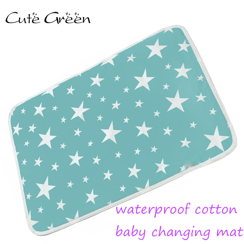 Baby Cotton Changing Mat Portable Foldable Washable Infants Changing Mat Diaper Pad Changing Pads & Covers Game Floor Mattress
