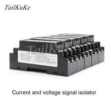 WS1521 Isolator 4 20mA DC แรงดันไฟฟ้า Transducer Current to แรงดันไฟฟ้าโมดูล 0 10V0 5V