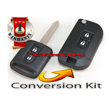 For Nissan Micra Navara Qashqai Murano Patrol X-Trail Note Remote Key Conversion Kit