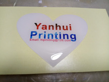 Clear Round Stickers,Diecut Label Sheet Blank,Custom Clear Vinyl Stickers  Printing transparent cosmetic