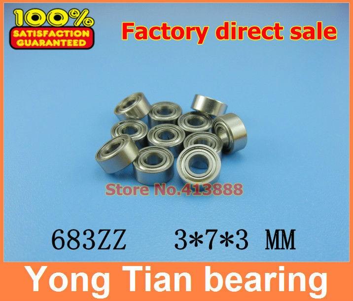 683ZZ 683Z 683 ABEC-5 ball bearing 3x7x3 mm miniature bearing 3*7*3 mm